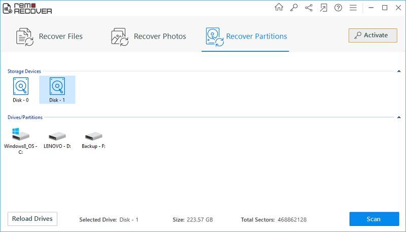 How to recover data from an undetected hard drive?